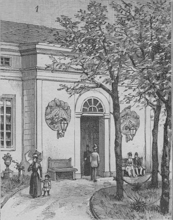 Hohenzollernmuseum Holzstich 01